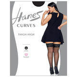 Hanes Plus Size Curves Lace Thigh High HSP015