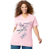Just My Size Dragonfly Ascending Short Sleeve Graphic Tee GTJ181 Y07186