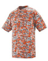 Augusta Sportswear Digi Camo Wicking Two-Button Jersey 1555