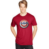 Hanes Men's Red, White & Brew Graphic Tee GT49C/A5
