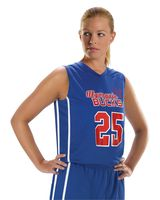 Alleson Athletic Women's Basketball Jersey A00130