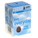 L'eggs Everyday Sheer Thigh High 3 pair 39300