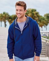 Fruit of the Loom Sofspun Hooded Full-Zip Sweatshirt SF73R