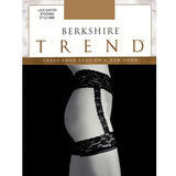Berkshire 4909 Sheer Lace Top Stocking with Garter Belt