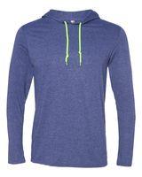 Anvil Lightweight Long Sleeve Hooded T-Shirt 987
