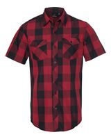 Burnside Buffalo Plaid Short Sleeve Shirt 9203