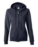 Gildan Heavy Blend Women's Full-Zip Hooded Sweatshirt 18600FL