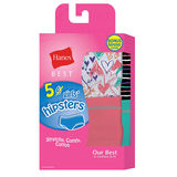 Hanes Best Girls' Cotton Stretch Hipsters 5-Pack GHBHP5