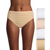 Hanes Women's Ultimate Comfort Flex Fit Hi-Cut 4-Pack 43CFF4