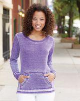 J. America Women's Zen Thermal Long Sleeve T-Shirt 8255