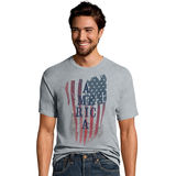 Hanes Men's America US Graphic Tee GT49C/A0