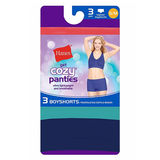 Hanes Women's Get Cozy Boyshort 3-Pack F347AS