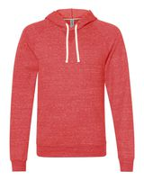 JERZEES Snow Heather French Terry Pullover Hood Sweatshirt 90MR