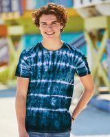 Dyenomite Shibori Tie Dye T-Shirt 640SB