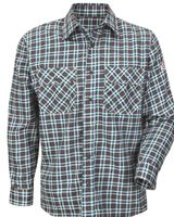 Bulwark Plaid Long Sleeve Uniform Shirt SLD6