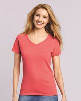 Gildan Heavy Cotton Women's V-Neck T-Shirt 5V00L