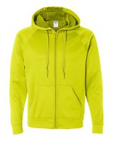 Jerzees Dri-Power Sport Hooded Full-Zip Sweatshirt PF93MR