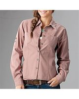 DRI DUCK Sawtooth Collection Women's Mortar Long Sleeve Shirt 8284