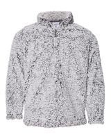 J. America Epic Sherpa Youth Quarter-Zip Pullover 8462