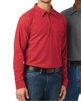 Bulwark Long Sleeve Polo Long Sizes QT12L