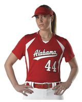 Alleson Athletic Women's Short Sleeve Fastpitch Jersey A00056