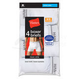 Hanes Mens TAGLESS 2XL Boxer Briefs with Comfort Flex Waistband 4-Pk 2349B4