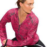 Champion Women's PerforMax Marathon Printed Packable Jacket J8853P