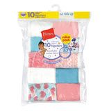 Hanes Toddler Girls' Briefs Cotton Hipsters 10-Pack TP10HP
