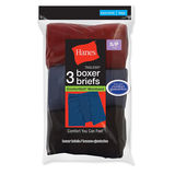 Hanes Boys' ComfortSoft® Dyed Boxer Briefs 3-Pack B755A3