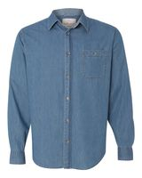 Weatherproof Vintage Denim Long Sleeve Shirt 154695