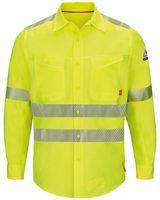 Bulwark iQ Series Endurance Work Shirt, ANSI Class 3 Type R - Long Sizes QS40HVL