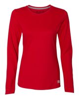 Russell Athletic Women's Essential Long Sleeve 60/40 Performance Tee 64LTTX