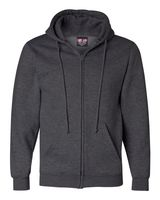 Bayside USA-Made Full-Zip Hooded Sweatshirt 900