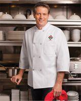 Chef Designs Three-Quarter Sleeve Chef Coat 0402