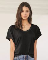 BELLA + CANVAS Women's Flowy Raglan Tee 8801