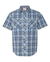 Weatherproof Vintage Plaid Short Sleeve Shirt 154620