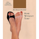 Berkshire 5111 Queen Size Ultra Sheer Toeless Pantyhose Control Top