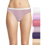 Hanes Ultimate Cotton Comfort Cool Dri Bikini 6-Pack