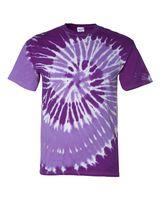 Dyenomite Tone-on-Tone Spiral T-Shirt 20021