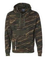 J. America Tailgate Polyester Hooded Pullover Sweatshirt 8615
