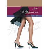 Hanes Silk Reflections Non-Control Top Reinforced Toe Pantyhose 00716