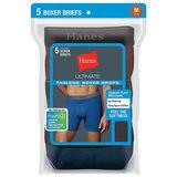 Hanes Ultimate FreshIQ Men's Fashion Assorted Boxer Briefs 2XL-4XL 3-Pack K312BXFH