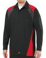 Red Kap Long Sleeve Tri-Color Shop Shirt SY18