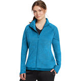 Champion Womens Plus Tech Fleece Full Zip Jacket QW1039