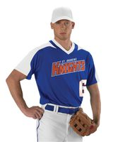 Alleson Athletic V-Neck Baseball Jersey A00009