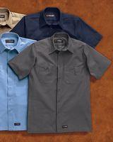 Wrangler Short Sleeve Work Shirt Tall Sizes WS20T