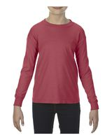 Comfort Colors Youth Garment-Dyed Midweight Long Sleeve T-Shirt 3483