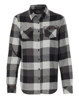 Burnside Women's Yarn-Dyed Long Sleeve Flannel Shirt 5210