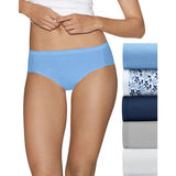 Hanes Ultimate Comfort Cotton Womens Hipster Panties 5-Pack 41HUCC