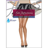 Hanes Silk Reflections Non-Control Top Reinforced Toe Pantyhose 716